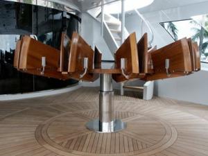 Стол-трансформер — стильное решение для небольших пространств