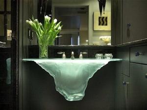 ТОП-10 необычных умывальников для ванной