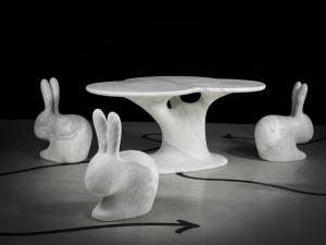 Robot City представила коллекцию мебели из мрамора