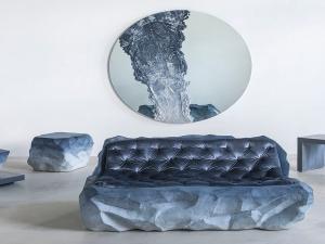 Перенесите горы в спальню: новая коллекция каменной мебели