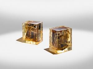 Дизайнерская мебель из контрастных материалов