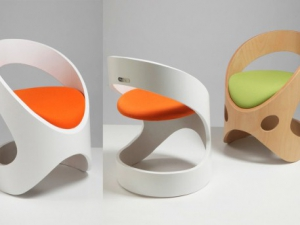 Вторичное сырье стало основой коллекции стульев