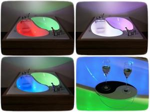 Расслабляющая ванна со светомузыкой для двоих