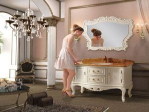 Мебель из мрамора демонстрируют в Италии