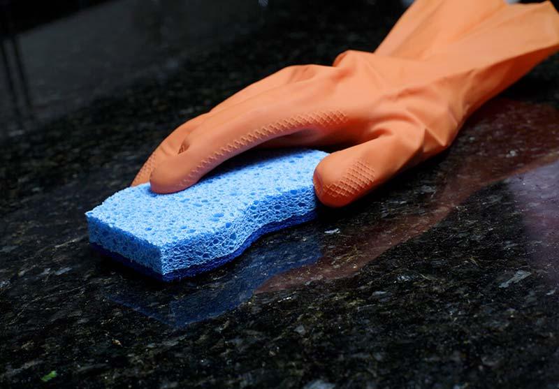 Как правильно чистить раковину из искусственного камня