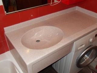 столешница под раковину в ванную